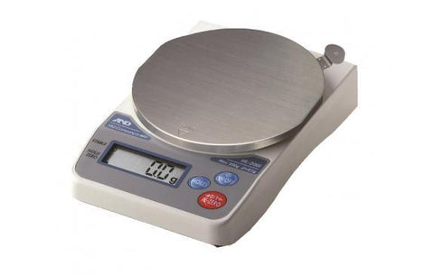 A&D Weighing Ninja HL-2000i Compact Scale, 2000g x 1g with External Calibration with Warranty