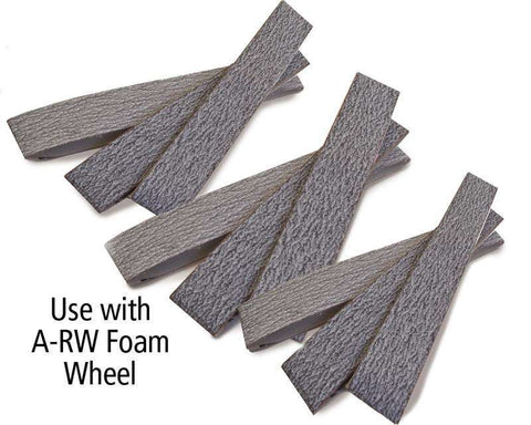 Foredom 4″ x 1″ Sanding Belts for Foam Wheel, 10-Pks