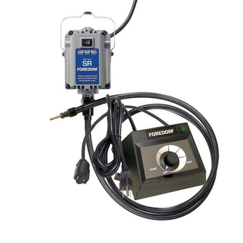 Foredom M.SRH Hang-Up Motor with Square Drive Shaft and choice of Speed Control with Warranty