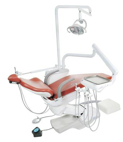 TPC Dental MP2015-600LED Mirage Operatory Package with Assistant Instrumentation