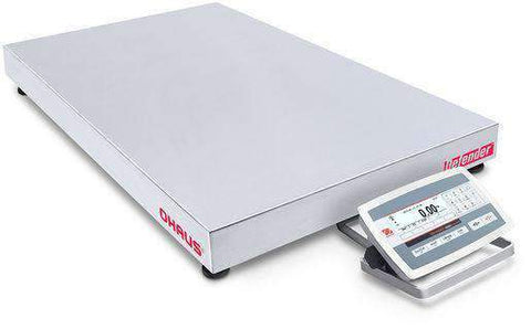 Ohaus D52XW125RTV5 Defender 5000 Low Profile Bench Scale, 250 x 0.01 lbs