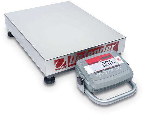 Ohaus D31P60BL5 Bench Scale Defender® 3000 Low Profile 132.0 lb x 0.02 lb with Warranty