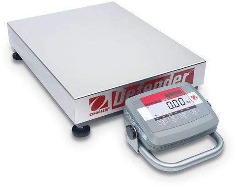 Ohaus D31P150BL5 Bench Scale Defender 3000 Low Profile 330.0 lb x 0.05 lb with Warranty