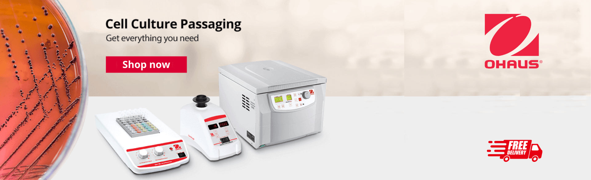 Ohaus Durable Hotplate Stirrers with Superior Safety Features and Intelligent Performance