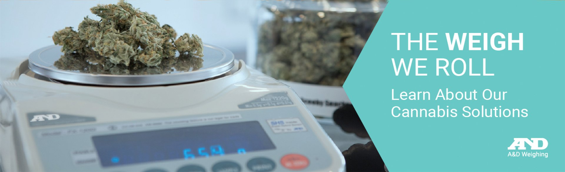 A&D Weighing Cannabis Scales