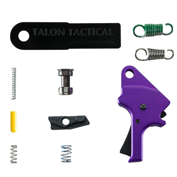 M&P Forward Set Sear & Flat Faced Trigger Kit - Aluminum (FSS) - Purple