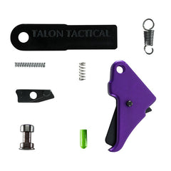 M&P Shield Duty/Carry Flat-Faced Action Enhancement Trigger & Kit (DCAEK) - Purple