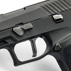 Sig P320 Flat-Faced Action Enhancement Trigger