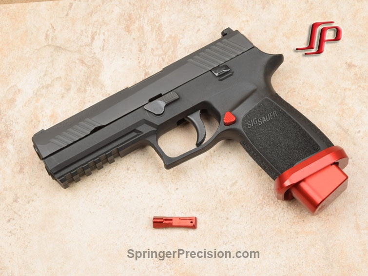 P320 Extended Magazine Release (Select Color)