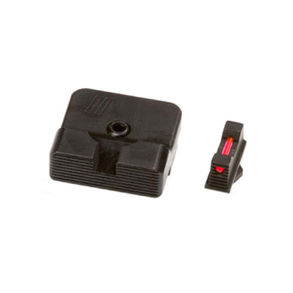Combat V2 Sight Set - Plain Rear, F/O Front