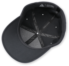 Flexfit Hat - Black Optics Two Brothers Wolf Design