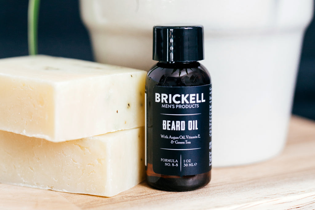 Brickell Men's Products Beard Oil