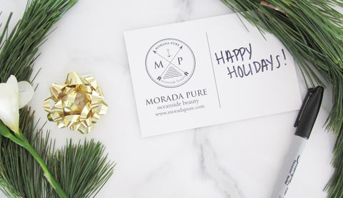 Happy Holidays From Morada Pure
