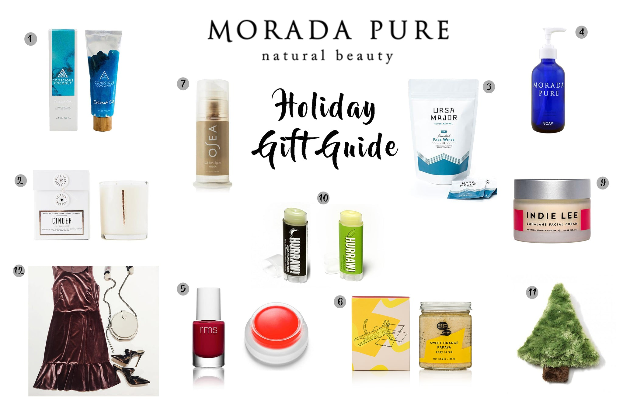 Morada Pure Holiday Gift Guide