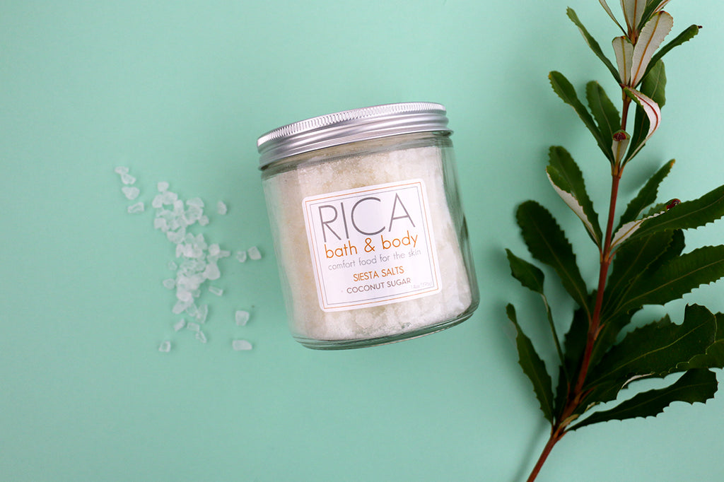 Rica Coconut Sugar Bath Salts