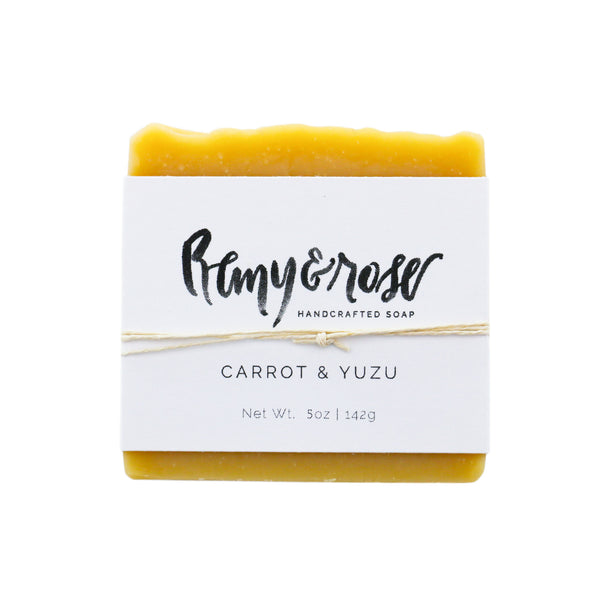 Carrot & Yuzu Bar Soap - Remy & Rose