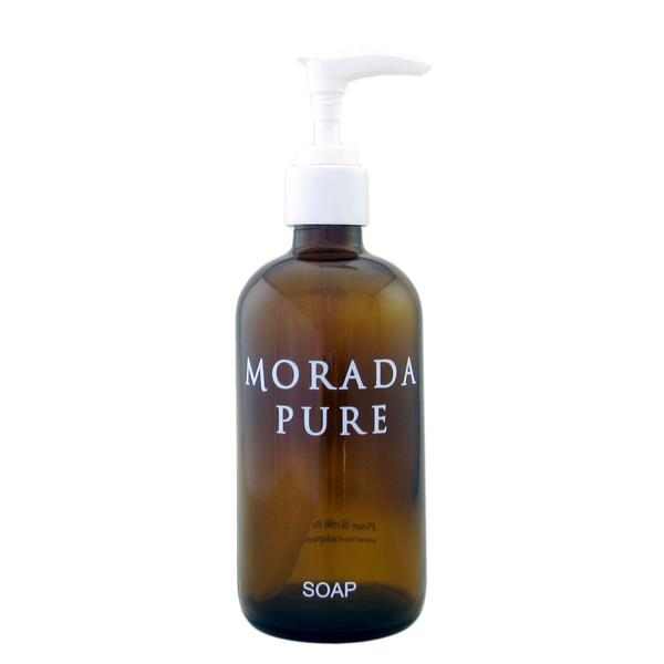 Morada Pure Organic Liquid Castile Soap Lemon + Mint