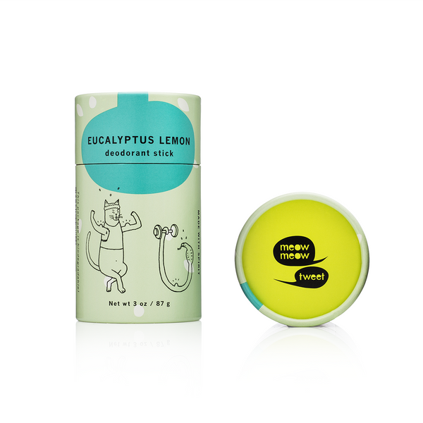 Eucalyptus Lemon Deodorant Stick Mini Meow Meow Tweet