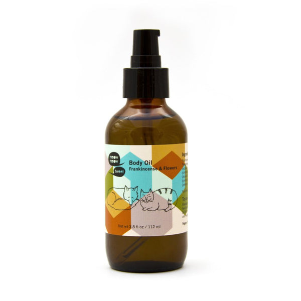 Frankincense + Flowers Body Oil