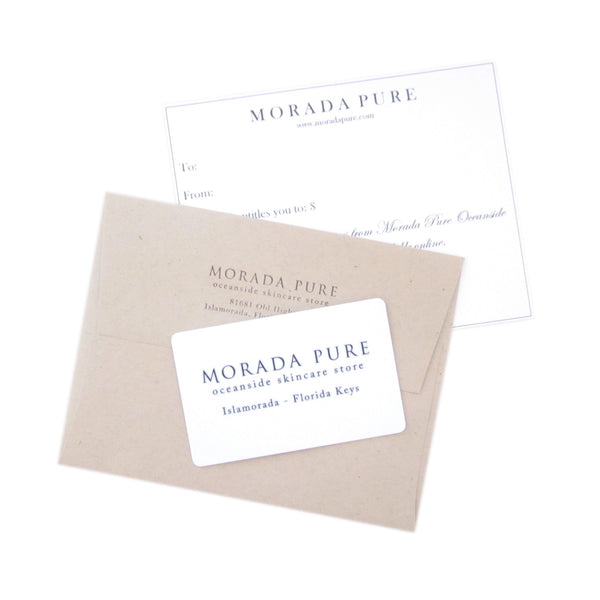 Gift Card - Online or In Store Purchases - Morada Pure
