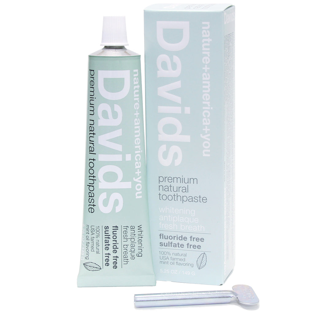 Natural Toothpaste - Davids