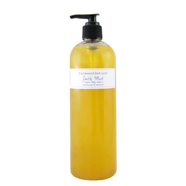 Organic Gentle Mint Body Wash - Farmaesthetics