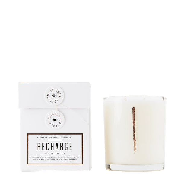 Recharge Candle Woodlot