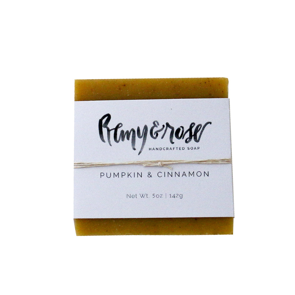 Pumpkin & Cinnamon Bar Soap - Remy and Rose