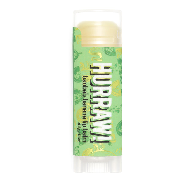 Vegan Lip Balm Baobab Banana Hurraw