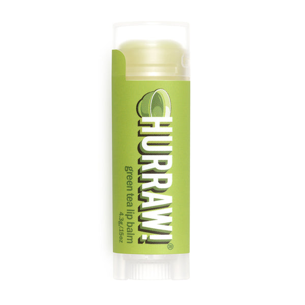 Vegan Lip Balm Green Tea Hurraw