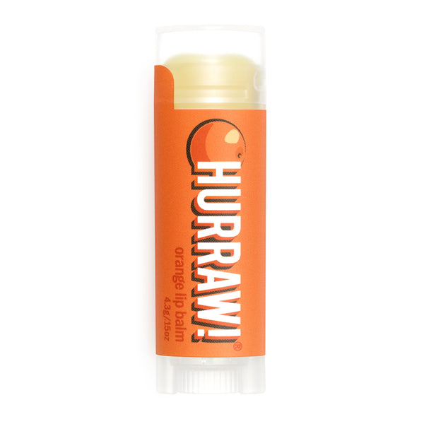 Vegan Lip Balm Orange Hurraw