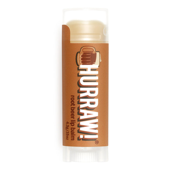 Vegan Lip Balm Root Beer Hurraw