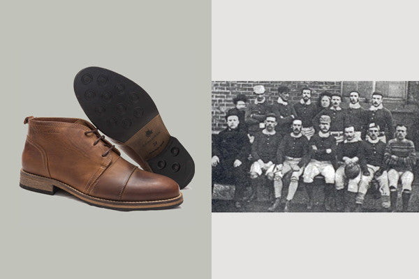 1857 SHEFFIELD FC (leather)