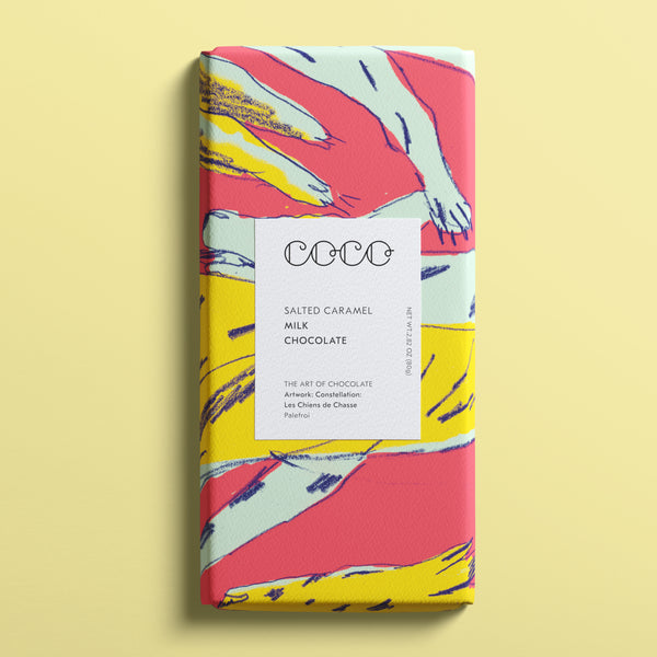 Salted Caramel Milk Chocolate by Coco