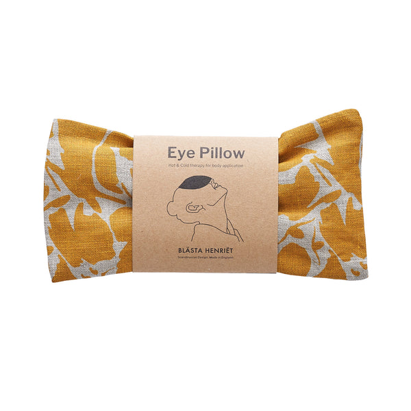 Yellow Eye Pillow by Blästa Henriët