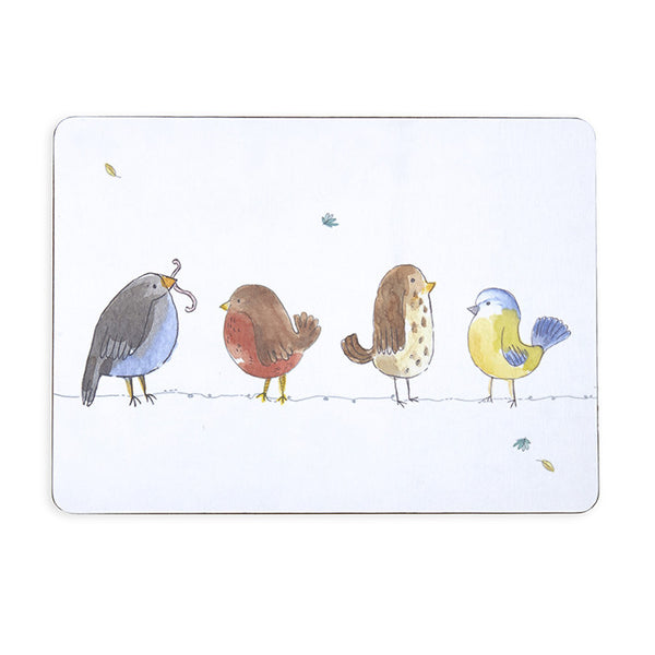 British Birds Melamine Tablemats