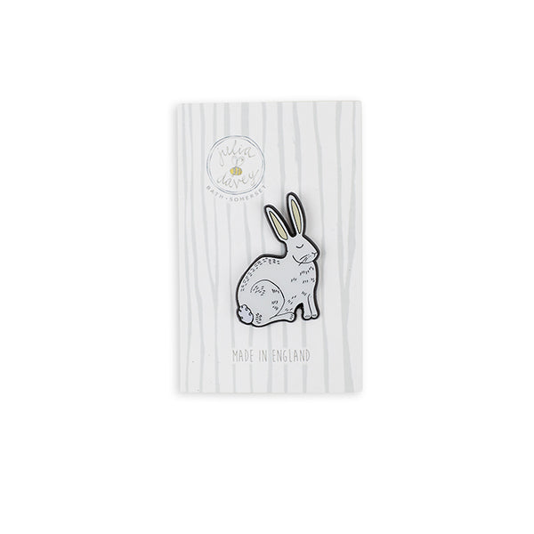 Rabbit Enamel Pin Brooch