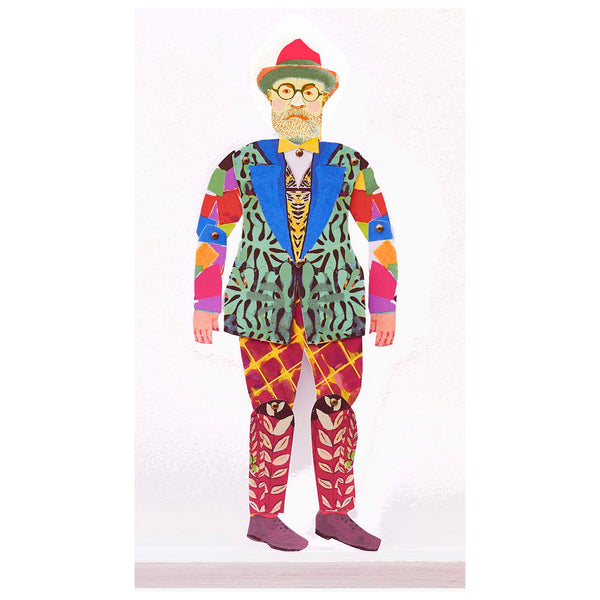 Henri Matisse Puppet by Wini Tapp