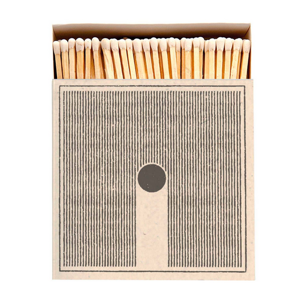 'Rain' Large Luxury Matches by Archivist