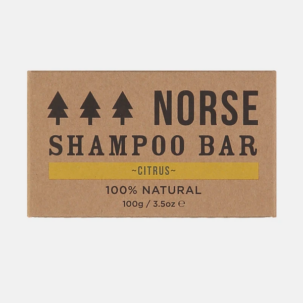 Solid Shampoo 'Citrus' by Norse