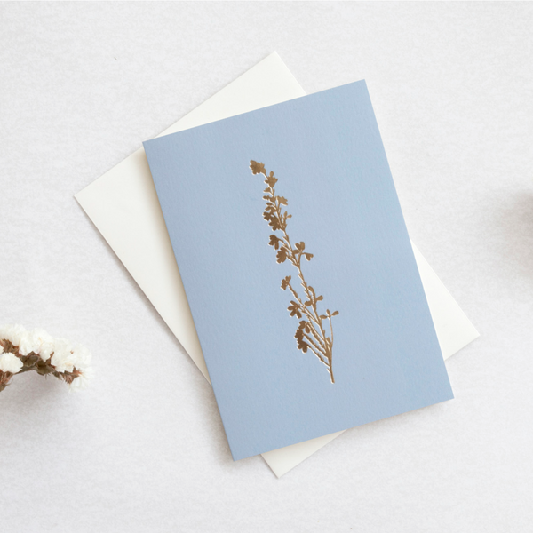 Heather Card by Ola Studio