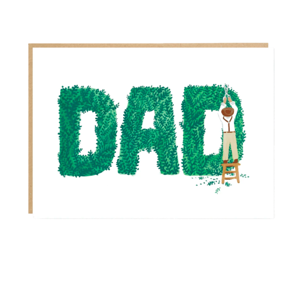 Dad Greetings Card by Jade Fisher