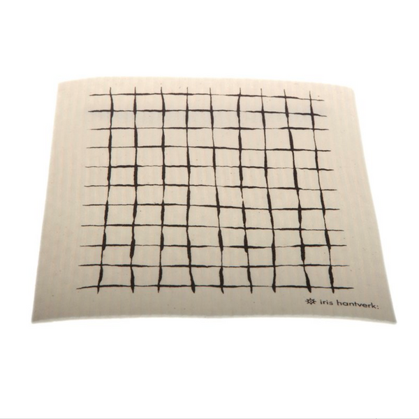 Checked Dish cloth by Iris Hantverk