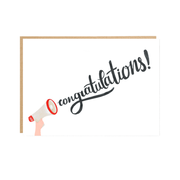 Congratulations Greeting Card by Jade Fisher