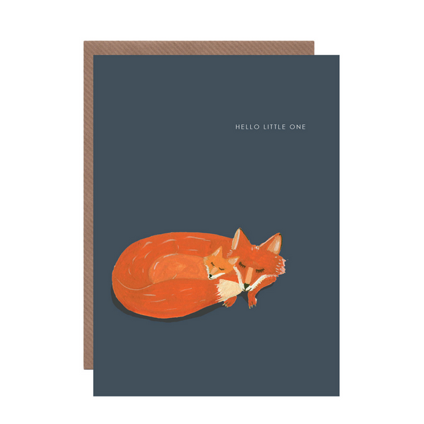 'Hello Little One' Card by Hutch Cassidy