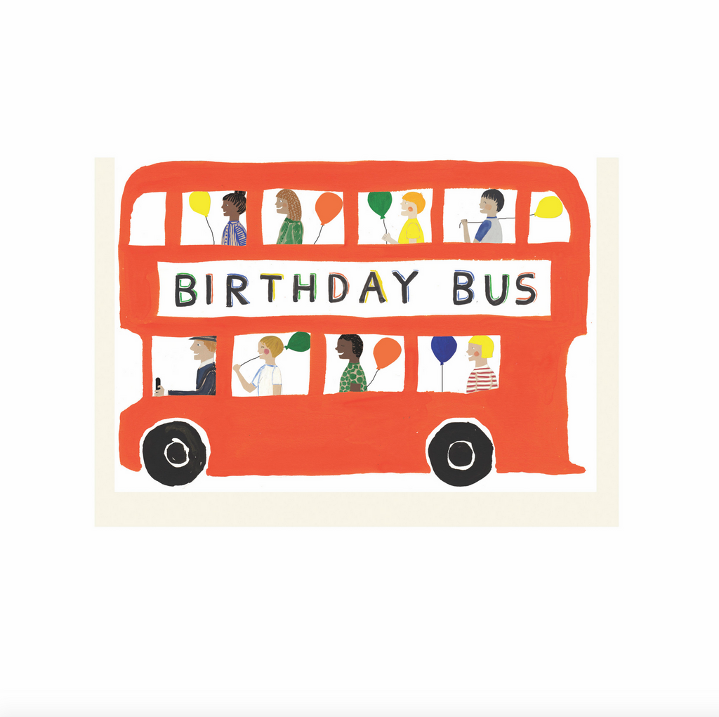 Birthday Bus card by Hadley Paper Goods