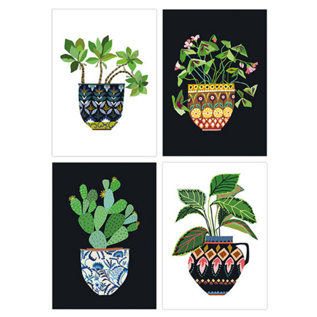House Plant Postcard Pack by Brie Harrison