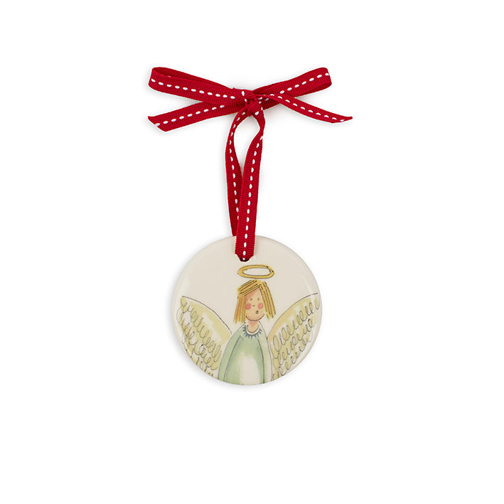 Large Circle Angel Decoration