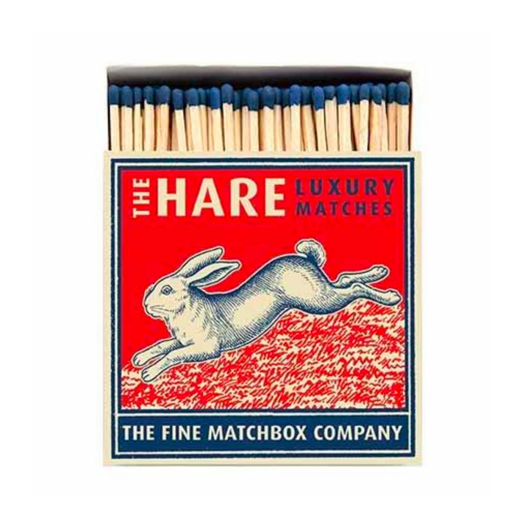 Hare Large Luxury Matches by Archivist