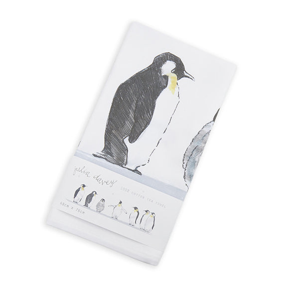 Emperor Penguin Cotton Tea Towel